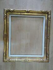 cadre 10F montparnasse feuillure 55 cm x 46 cm patine doré format frame tableau