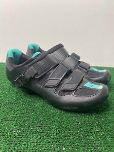Specialized Torch Wmn Shoe Black 42 10.5 black teal 6.0 Stiffness