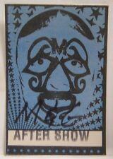 White Zombie / Rod Zombie - Original Vintage Concert Tour Cloth Backstage Pass