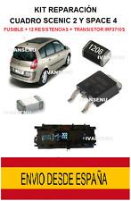 Kit de reparación cuadro digital Scenic2 Espace IRF3710S + Fusible 6.5A + 12 R1