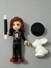 LEGO Friends Olivia Magician Minifigure with Rabbit  Hat and Wand