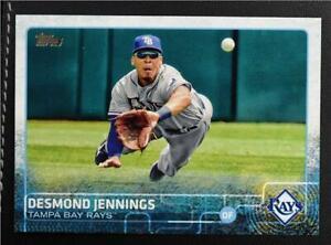 2015 Topps #674 Desmond Jennings - NM-MT