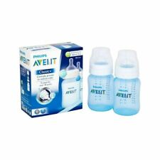 Avent Classic Plus Blue Bottle Twin Pack - Pack of 2