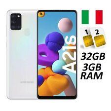 SAMSUNG GALAXY A21S DUAL SIM SM- A217 DS 32GB RAM 3GB WHITE ITALIA NO BRAND