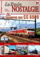 LE TRAIN NOSTALGIE N°21 - Le triomphe des CC6500) (inclus DVD)