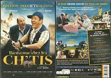 BIENVENUE CHEZ LES CH'TIS avec DANY BOON, KAD MERAD / EDITION 2 DVD NEUF EMBALLE