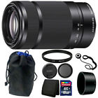 Sony 55-210mm F4.5-6.3 OSS E-Mount Telephoto Lens for DSLR Cameras + Accessories