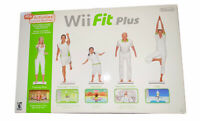 Nintendo Wii Fit Plus Balance Board With Game Tested Works Great!