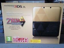 CONSOLE NINTENDO 3DS XL ZELDA A LINK A BETWEEN WORLD LIMITED EDITION PAL new