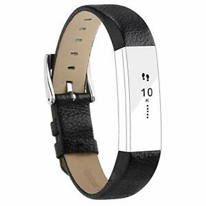 Replacement Leather Straps Bands Compatible for Fitbit Alta and Alta HR