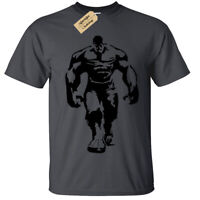 Hulk T-Shirt Unisex Mens gym training bodybuilding fitness