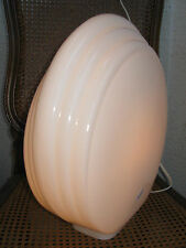 GRANDE LAMPE ANCIENNE VERRE DE MURANO FORME COQUILLAGE MODERNE/ANNÉES 80/N°B112