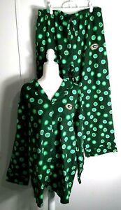 Women's Green Bay Pajamas Packers NWOT NFL Team Apparel Reebok Flannel XXL
