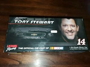 RareACTION RACING COLLECTABLES TONY STEWART#14 DIE CAST 1:24 SPECIAL AUTOGRAPHED