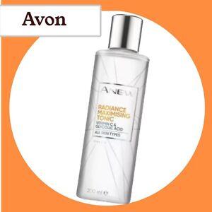 Avon Anew Vitamin C Radiance Maximising Tonic Glycolic Acid 200ml NEW
