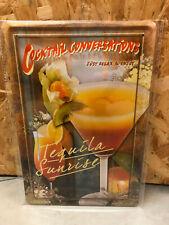 4 Cocktail Blechschilder 20x30 cm im Set Cocktails Cocktail Conversations