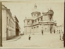 Belgique, Namur, Cathédrale Saint-Aubain,  ca.1905, vintage citrate print Vintag
