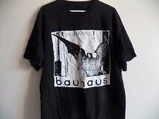 Vintage 90s BAUHAUS 1998 UNDEAD Tour Punk Rock Concert Black Band Goth T-Shirt
