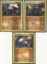 2 RARE EXCADRILL & DRILBUR- 3 EVO DARK EXPLORERS Pokemon Cards - REV HOLO -MINT