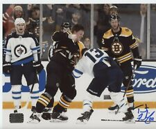 Trent Frederic Boston Bruins signed 8x10 Fight photo