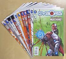 Cyborg 1-11 NM (2015, DC,  Walker, Reis, New 52)