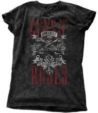 Guns N' Roses Ladies Fashion Tee Appetite for Destruction (snow Wash)