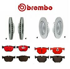 For BMW E70 X5 E71 X6 Brembo Front and Rear Brake Kit Disc Rotors Ceramic Pads