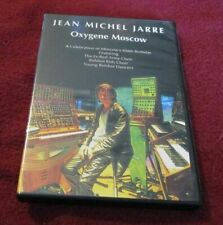 Jean Michel Jarre - Oxygene Moscow/Making the Steamroller Fly RARE OOP DVD
