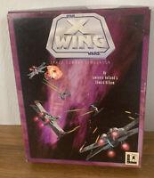 "Star Wars X-Wing Space Combat Simulator PC 1992 3.5"" Disks"