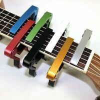 Quick Change Tune Clamp Key Trigger Capo For Acoustic Electric Guitar Ukulele SD