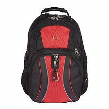 "New Red Swiss Gear 17"" ScanSmart Laptop Backpack Back Pack"