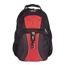 "New Red Swiss Gear 17"" ScanSmart Laptop Backpack Back Pack"