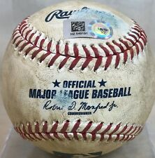 KRIS BRYANT GAME-USED MLB BASEBALL from 68th AB 2015 ROOKIE SEASON CHICAGO CUBS