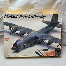 Testors # 691 Model Plane Lockheed AC-130A Hercules Gunship 1:72 Scale Model Kit