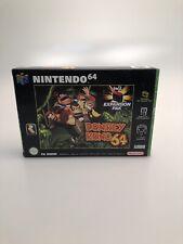 Nintendo 64 - Donkey Kong 64 in OVP mit Zubehör