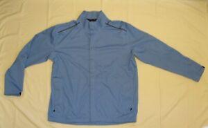 """""""Nike"""" light blue Mens golf Storm-fit RAIN wind JACKET, size XL"""