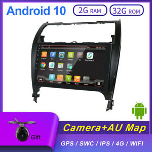 2Din Car GPS Head unit Android 10 For Toyota Camry 2012 2013 2014 2015 2016 2017