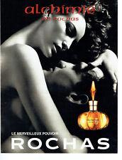 Publicité Advertising 098  1998   parfum Alchimie de Rochas