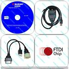 Diagnostic USB Cable Kit For Suzuki SDS 8.50 Outboard Boat Marine <br/> ✅Version SDS 8.50 ✅ FTDI chip ✅ SHIPPED TODAY!