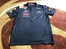 ORIGINAL F1 Redbull EXCLUSIVE TEAM WEAR ZIP NECK POLO SHIRT PEPE JEANS SIZE M