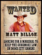 """MATT DILLON WANTED POSTER FRIDGE MAGNET # 1. 4"""" X 5"""". JAMES ARNESS.....FREE SHIP"""