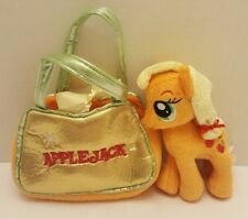 "My Little Pony Applejack Cutie Mark Carrier with 6"" Plush  P1"