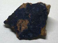Beautiful Deep Blue Azurite Crystal on Matrix  154 g / 5.432 oz     BE-0103