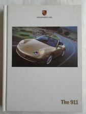 Porsche 911 range brochure Sep 1999 996 hardbacked