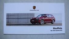 Prospekt Porsche - der neue Cayenne GTS (Facelift), 2008, 4 Seiten