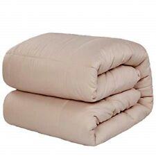 New Merous Hypoallergenic Alternative Fill Comforter Duvet Insert Twin Xl Khaki