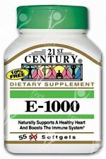 Siglo Xxi, vitamina E 1000mg x55caps-Skin-cardiovasculares Antioxidante