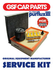 Service Kit Oil Air Pollen Filters Spark Plugs And Sump Plug Ford Focus 1.4