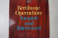 Berühmte Opernchöre Vorspiele und Intermezzi 2 LP Parnass 02447 LP9