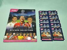 Topps Champions League Sticker 2019/2020 Sammelalbum + 10 Tüten 19/20